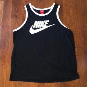 Nike Tank XL black white